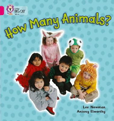 How Many Animals?: Band 01a/Pink a