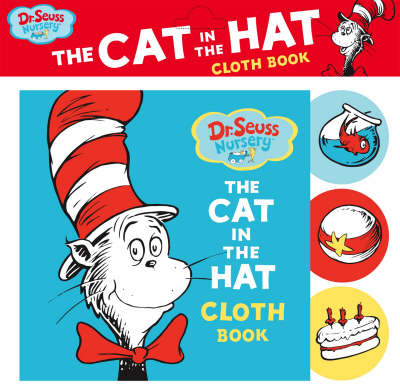 Dr. Seuss Nursery Cat in the Hat Cloth Book