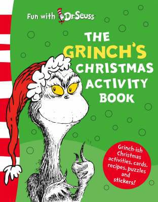 The Grinch's Christmas Activity Book