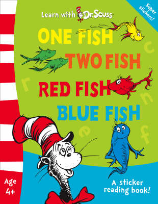 One fish two fish red fish blue fish reviews toppsta for Book with fish bowl on cover