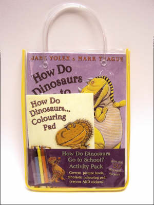 How Do Dinosaurs Go to School Activity Pack