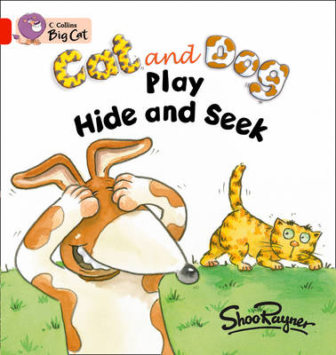 Cat and Dog Play Hide and Seek Workbook