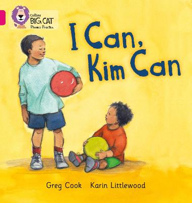 I CAN, KIM CAN: Band 01b/Pink B