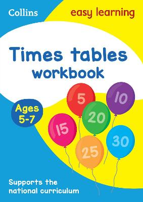 Times Tables Workbook Ages 5-7: New Edition