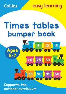 Times Tables Bumper Book Ages 5-7
