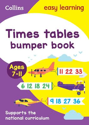 Times Tables Bumper Book Ages 7-11