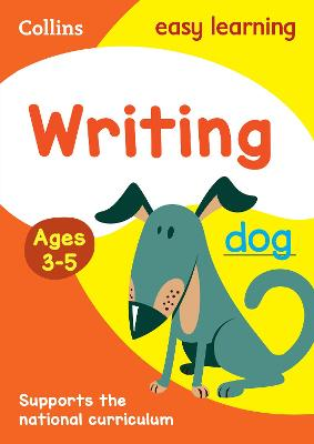 Writing Ages 3-5: New Edition