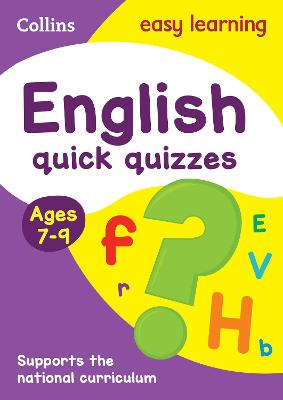 English Quick Quizzes Ages 7-9
