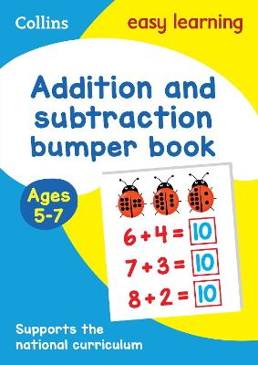 Addition and Subtraction Bumper Book Ages 5-7