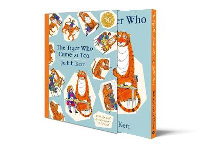The Tiger Who Came to Tea Gift Edition: New Limited Edition of Judith Kerr's Classic Children's Book