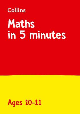 Letts Maths in 5 Minutes a Day Age 10-11