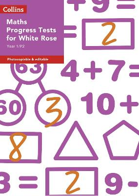 Year 1/P2 Maths Progress Tests for White Rose