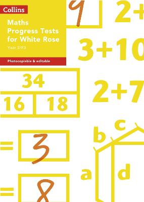 Year 2/P3 Maths Progress Tests for White Rose