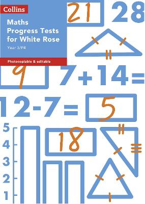 Year 3/P4 Maths Progress Tests for White Rose