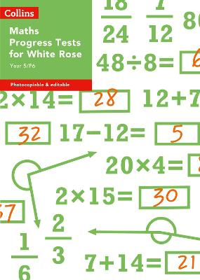 Year 5/P6 Maths Progress Tests for White Rose