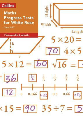 Year 6/P7 Maths Progress Tests for White Rose