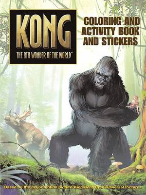 King Kong Coloring and Activity Book and Stickers