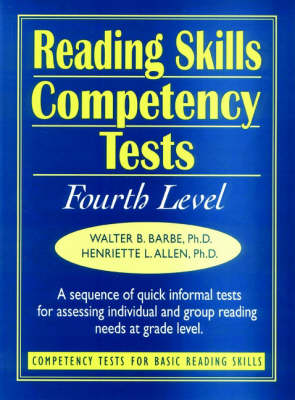 Ready-to-Use Reading Skills Competency Tests: Fourth Grade Reading Level, Vol. 5
