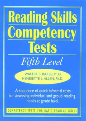 Ready-to-Use Reading Skills Competency Tests: Fifth Grade Reading Level, Vol. 6