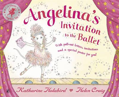 Angelina Ballerina Invitation to the Ballet