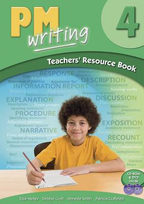 PM Writing 4 Teachers' Resource Book (with Site Licence CD & DVD)