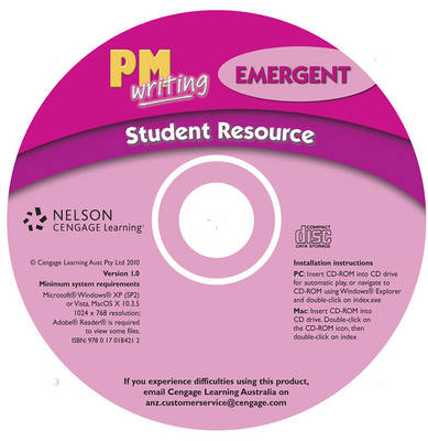 PM Writing Emergent Student Resource CD