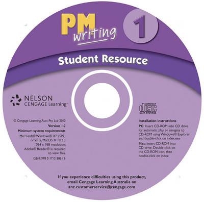 PM Writing 1 Student Resource CD (Site Licence)