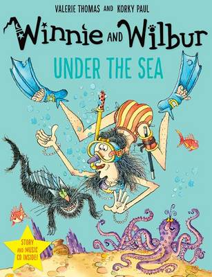 Winnie and Wilbur under the Sea with audio CD