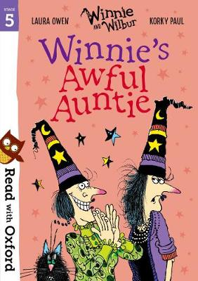 Read with Oxford: Stage 5: Winnie and Wilbur: Winnie's Awful Auntie