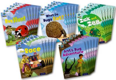 Project X Origins: Light Blue Book Band, Oxford Level 4: Bugs: Class Pack of 30