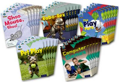 Project X Origins: Light Blue Book Band, Oxford Level 4: Toys and Games: Class Pack of 30