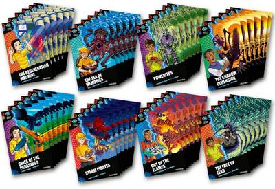 Project X Alien Adventures: Dark Red Book Band, Oxford Levels 17-18: Dark Red Book Band, Class Pack of 48
