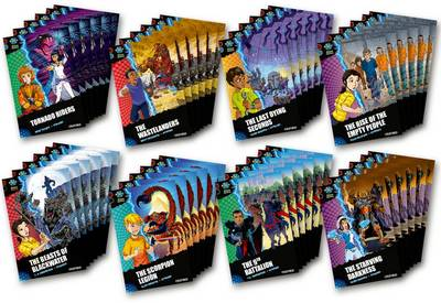 Project X Alien Adventures: Dark Red + Book Band, Oxford Levels 19-20: Dark Red + Book Band, Class Pack of 48
