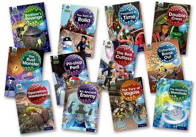 Project X Alien Adventures: Grey Book Band, Oxford Levels 12-14: Grey Book Band Mixed Pack of 12
