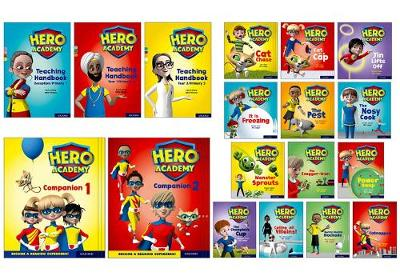 Hero Academy: Lilac-Lime+ Book Bands, Oxford Levels 1-12: Super Easy Buy Pack