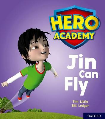 Hero Academy: Oxford Level 1, Lilac Book Band: Jin Can Fly