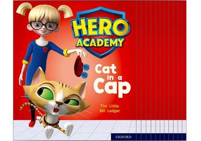 Hero Academy: Oxford Level 1+, Pink Book Band: Mixed pack