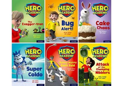 Hero Academy: Oxford Level 7, Turquoise Book Band: Class pack