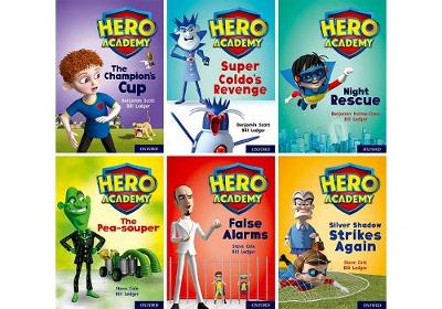 Hero Academy: Oxford Level 9, Gold Book Band: Class pack