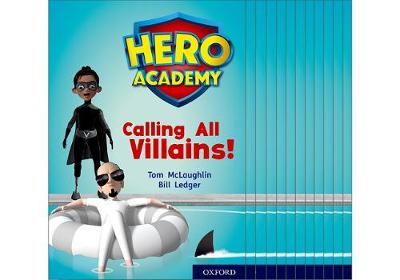 Hero Academy: Oxford Level 10, White Book Band: Mixed pack