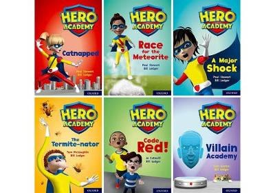 Hero Academy: Oxford Level 12, Lime+ Book Band: Class pack