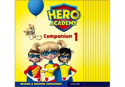 Hero Academy: Oxford Levels 1-6, Lilac-Orange Book Bands: Companion 1 Class Pack