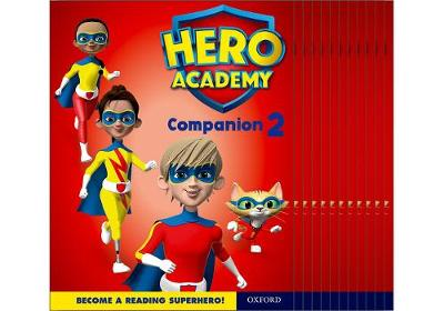 Hero Academy: Oxford Levels 7-12, Turquoise-Lime+ Book Bands: Companion 2 Class Pack