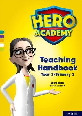 Hero Academy: Oxford Levels 7-12, Turquoise-Lime+ Book Bands: Teaching Handbook Year 2/Primary 3