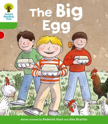 Oxford Reading Tree: Level 2: First Sentences: The Big Egg
