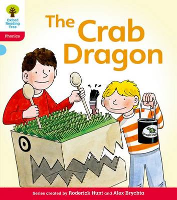 Oxford Reading Tree: Level 4: Floppy's Phonics Fiction: The Crab Dragon