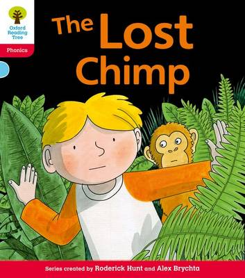 Oxford Reading Tree: Level 4: Floppy's Phonics Fiction: The Lost Chimp