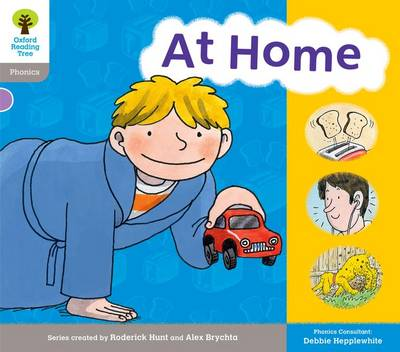 Oxford Reading Tree: Level 1: Floppy's Phonics: Sounds and Letters: At Home