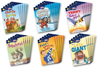Oxford Reading Tree: All Stars: Pack 1a: Class Pack (36 Books, 6 of Each Title)