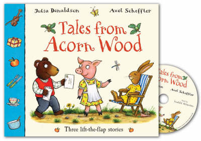 Tales From Acorn Wood Book and CD Pack
